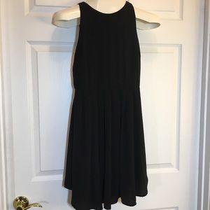 Lush Dress, Black, Sleeveless, Size Small